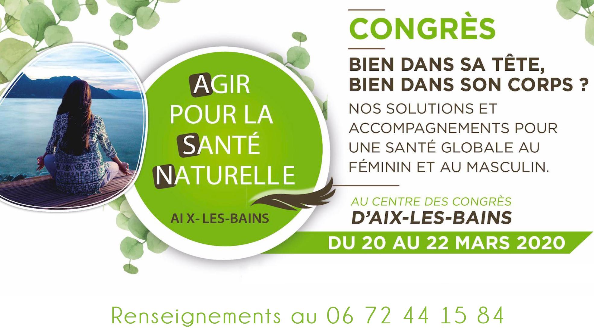 Vendredi 20 mars 2020 à 18h30 - Aix-les-Bains