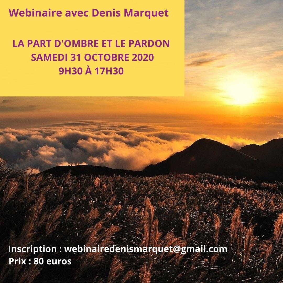 Webinaire samedi 31 octobre 2020
